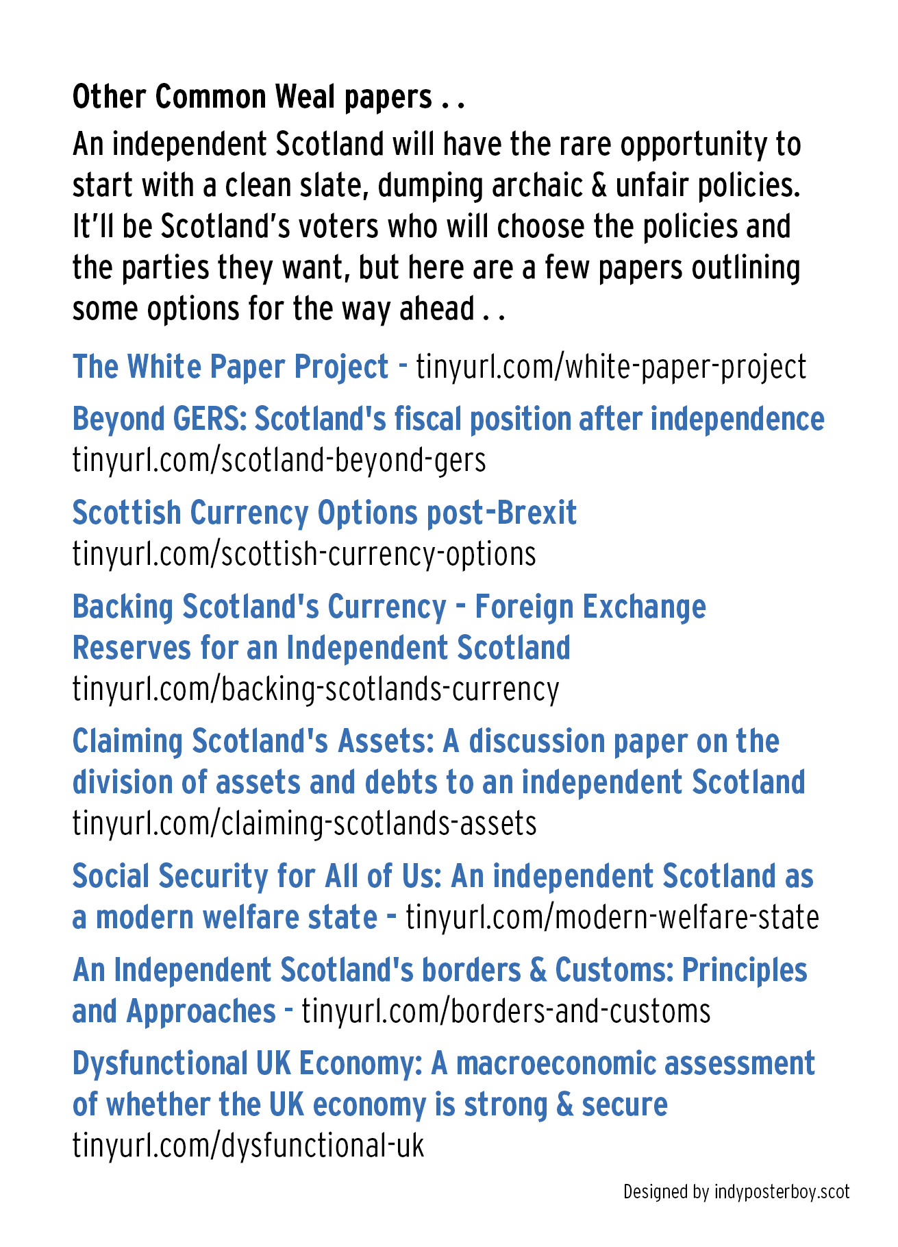 Commonweal – IndyPosterBoy